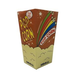 popcorn box -small fold down lid