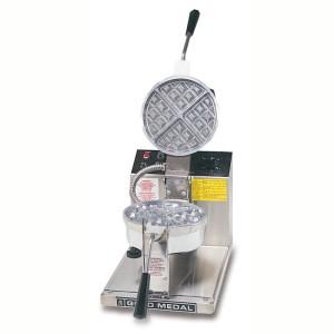 round belgian waffle baker 5042
