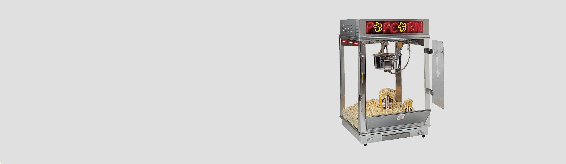Popcorn-machines